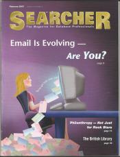 Searcher cover blogging
