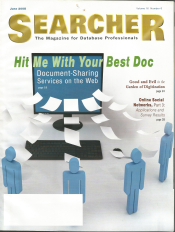 Searcher cover books and social